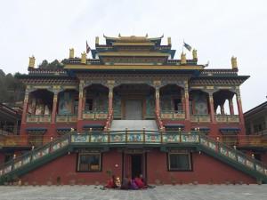 Dhagpo Sheydrub Ling Monastery, Bhaktapur, Nepal.