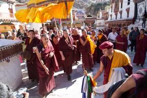 Visit at Hemis Monastery