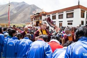 Amithayus Empowerment at Shachukul Monastery