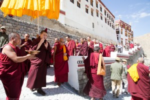 Consecration of Phyang Monastery