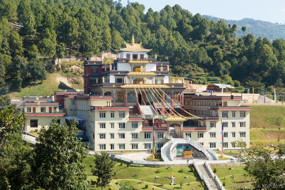 Dhagpo Shedrub Ling Monastery.