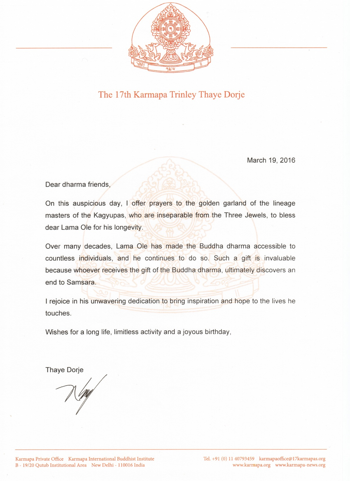 Events Or Activities  Letters