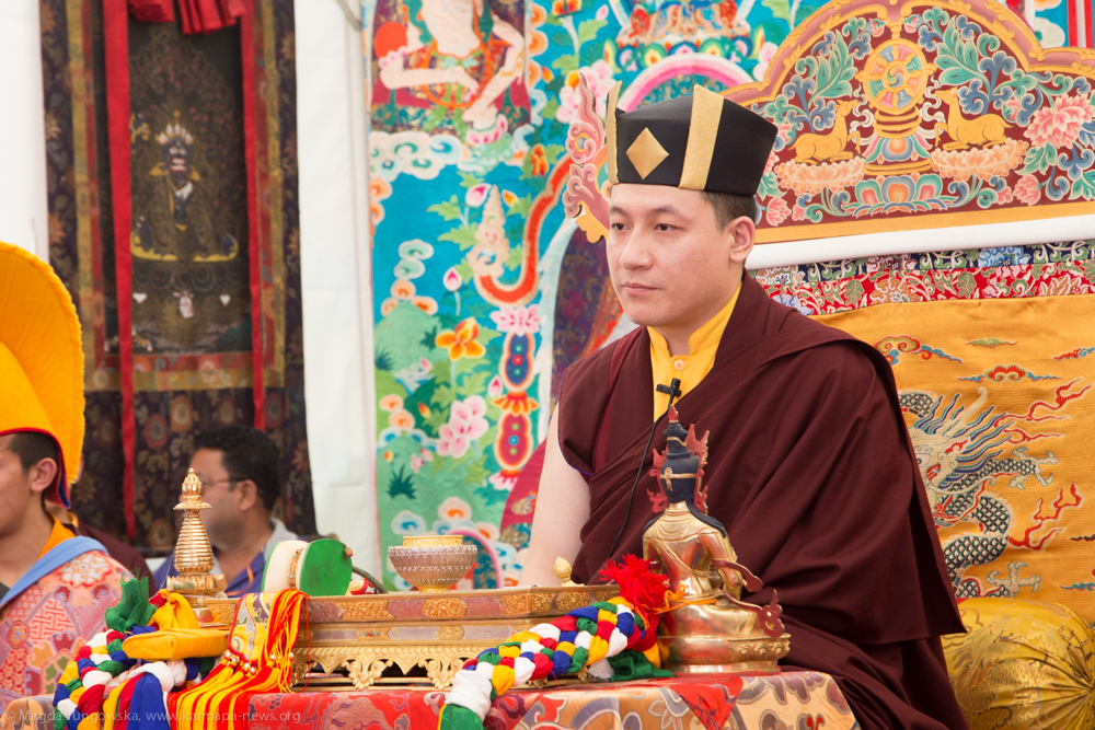 11.06.2017 Gyalwa Karmapa grants Amithayus empowerment to over 2000 devotees from Himalayan region