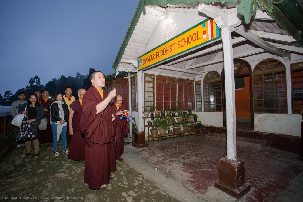 14.06.2017 Visit at Thagda Diwakar Buddhist School
