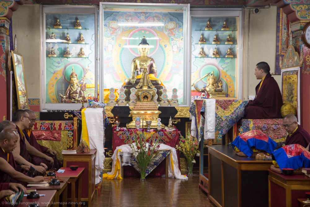 10.06.2017 Calling Lama from Afar and Swift Rebirth Prayers for Shamar Rinpoche