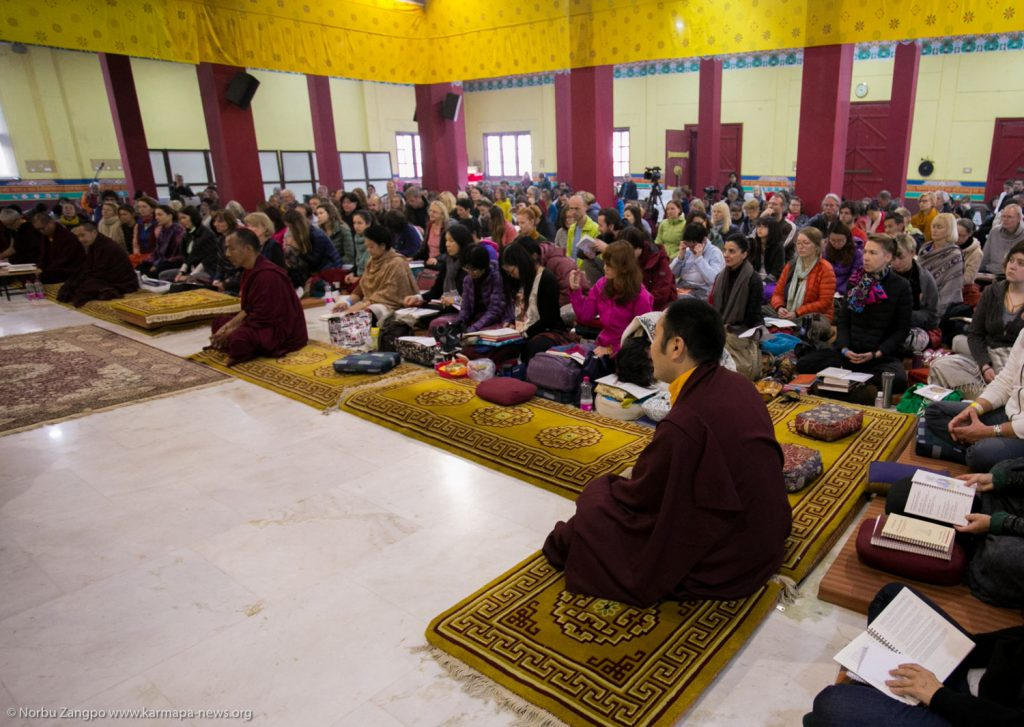 Teaching about the practice of Mandala Offering and the Refuge Vows