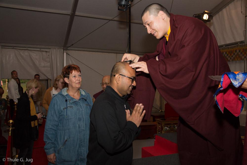 26.07.2017 Gyalwa Karmapa teaches and gives refuge