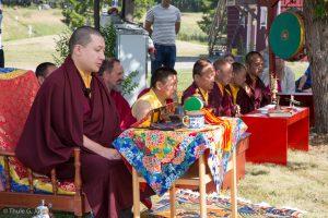 Karmapa visits Sweden, 17-07-24 to 30.  Blessing Ceremony