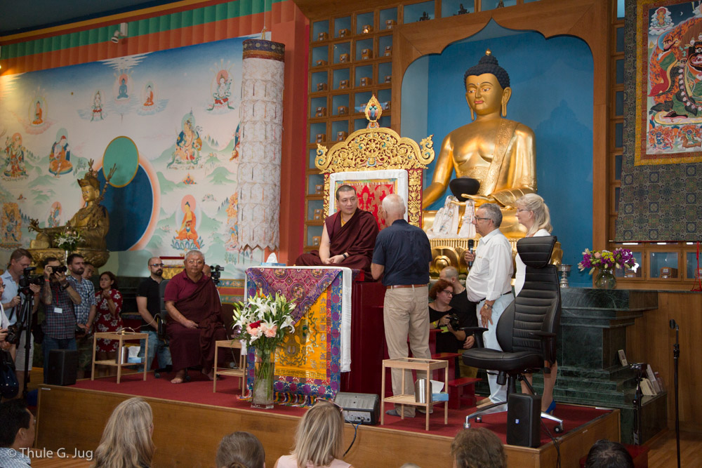 Inauguration of Mahakala Room with Gyalwa Karmapa