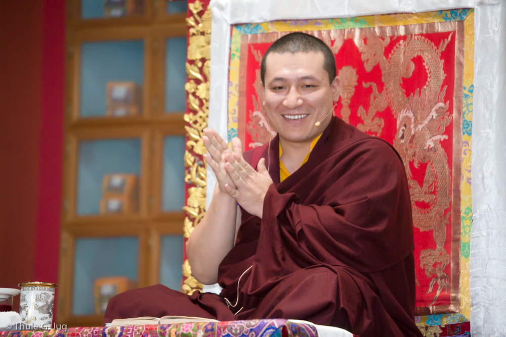 Gyalwa Karmapa gives teachings about compassion