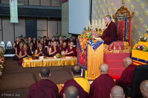 Gyalwa Karmapa visits Kuching, September 26th to October 2nd, 20