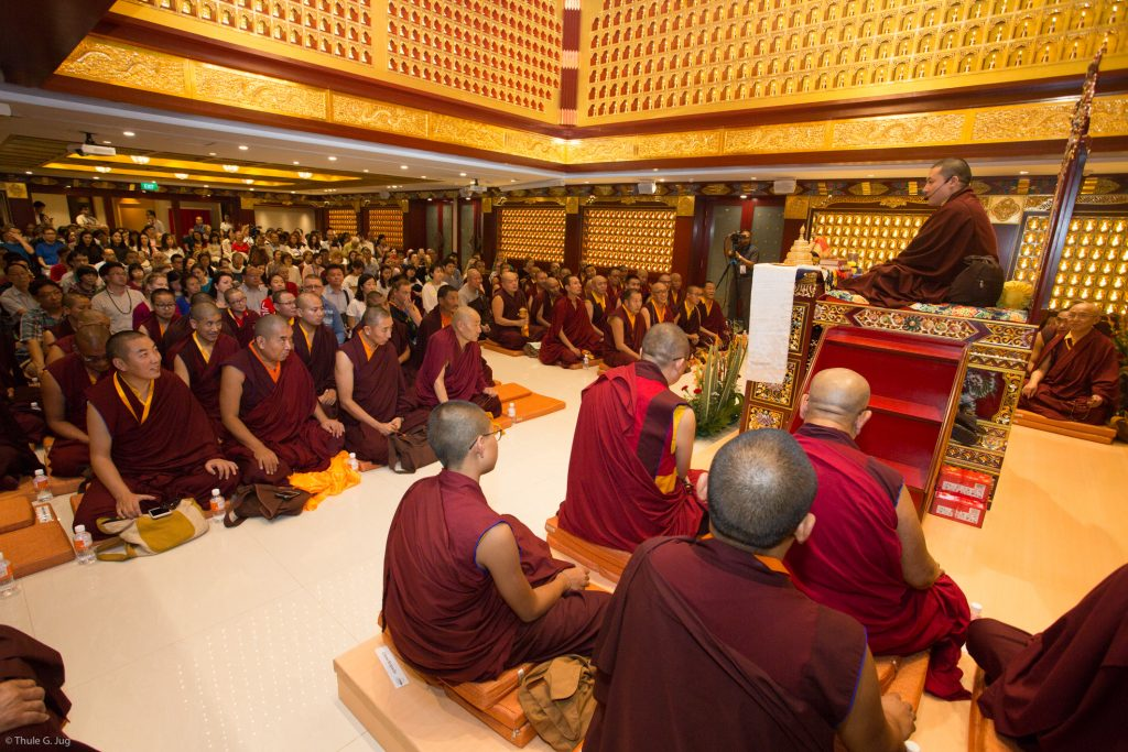 HH Gyalwa Karmapa teaches about Effordless Clarity