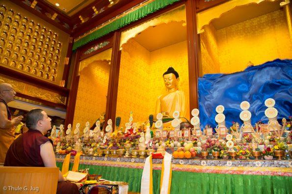 Opening of the Buddha Statues