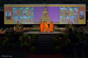 Prayers by Theravada Monks