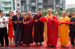 Opening Ceremony of the New Karma Kagyu Buddhist Centre Singapore