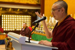 Speech by Shangpa Rinpoche