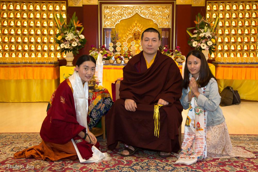 Audience by HH Gyalwa Karmapa for sponsors and volunteers