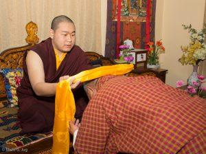 Sangyumla´s Family visits Karma Temple