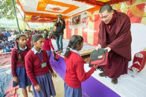 Gyalwa Karmapa in Bodh Gaya, Dec. 6 to 23, 2017. Gyalwa Karmapa