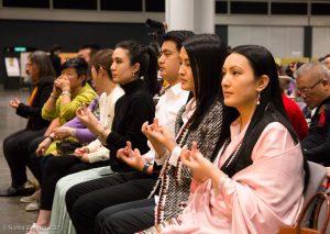Karmapa in Hong Kong, 2018-03-31 to 04-09. Chenresig Empowerment