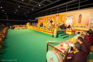 Karmapa in Hong Kong, 2018-03-31 to 04-09. Mahakalapuja
