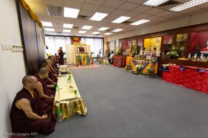 Karmapa in Hong Kong, 2018-03-31 to 04-09. Visit of the Bodhipat