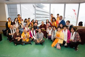 Karmapa in Hong Kong, 2018-03-31 to 04-09. Audiences