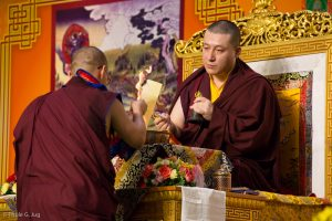 Chang Chog Puja for deseased with Gyalwa Karmapa
