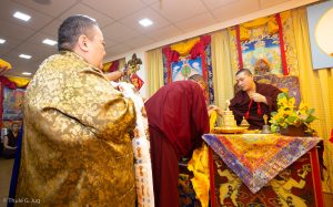 Karmapa in Hong Kong, 2018-03-31 to 04-09. Visits of Dharma Cent