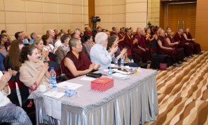 Day three of the Fourth International Karma Kagyu Meeting in Bodh Gaya