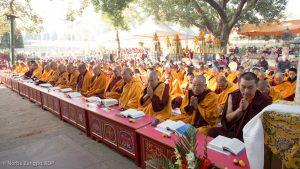 The Kagyu Monlam, Bodh Gaya, December 2018