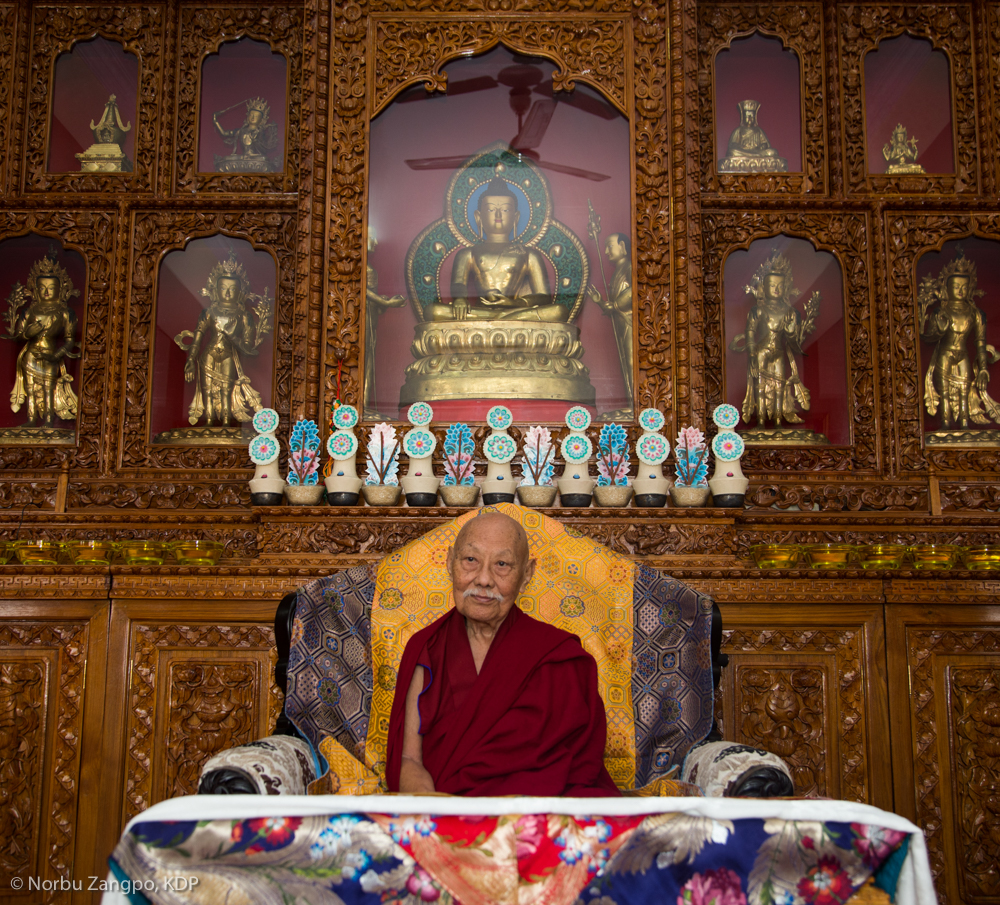 His Eminence Luding Khenchen Rinpoche, a pre-eminent spiritual master and lineage holder, belongs to one of the oldest royal families of the Tibetan Buddhist tradition.