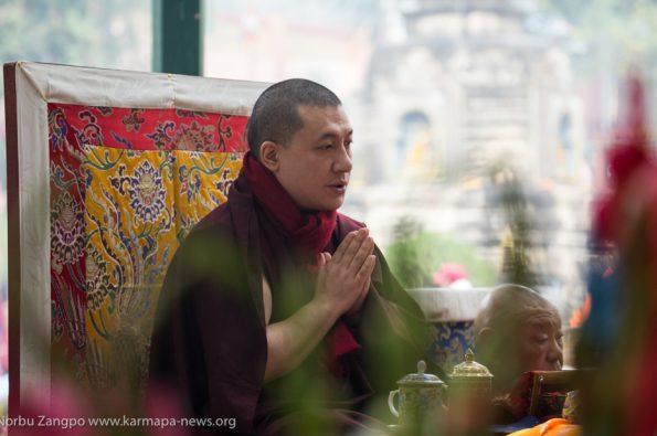 Bodhgaya India, 2019-12-15 KagyuMonlam Chenmo