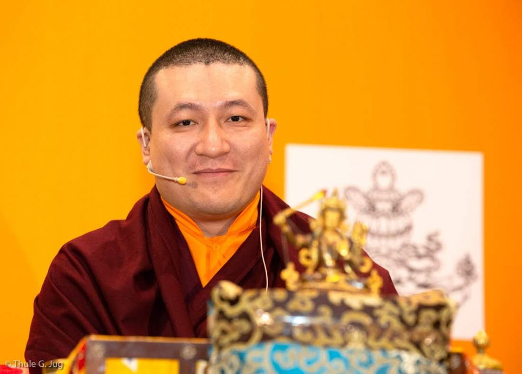 Dharma Teachings by Gyalwa Karmapa to about 1500 people. 2nd part with questions and answers