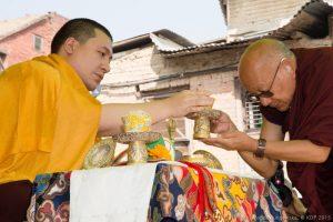 Karmapa at Swayambhu