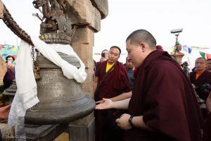Karmapa visits Kathmandu, 2018-12-03 to 07. Pigrimadge to Parpin