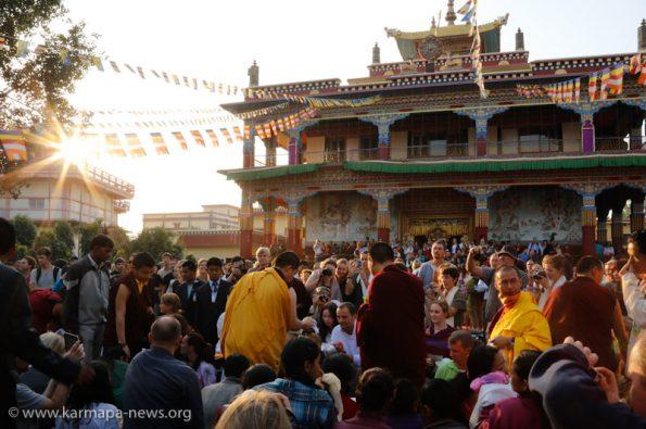 2012-12-19-Karma-Temple-Gyalwa-Karmapa-grants-Chenresig-Empowerment-in-Beru-Kyentse-Monastery-in-Bodhgaya