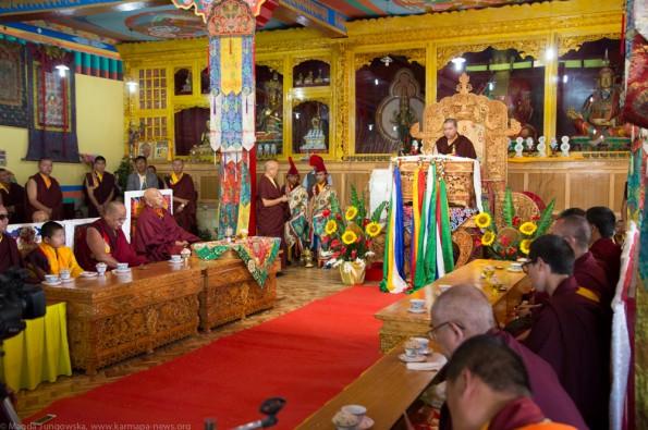 Karmapa-in-Ladakh