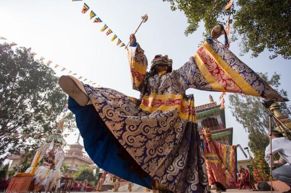 Kagyu-Monlam-2015-Mahakala-Puja-Lama-Dance