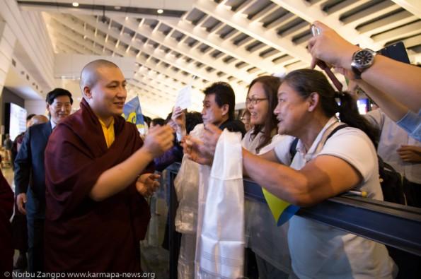 Karmapa-in-Taiwan-2016