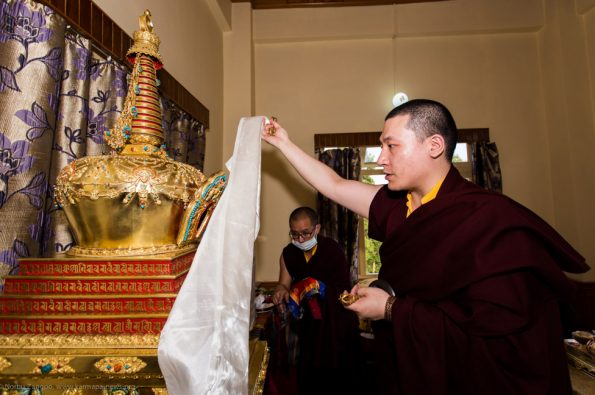 Commemoration-ceremonies-for-Shamar-Rinpoche-in-Kalimpong-2017