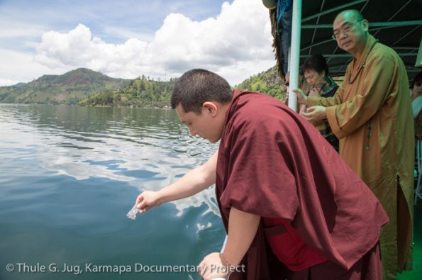 Karmapa-in-Indonesia-Visit-of-Dharma-Batama-Monastery