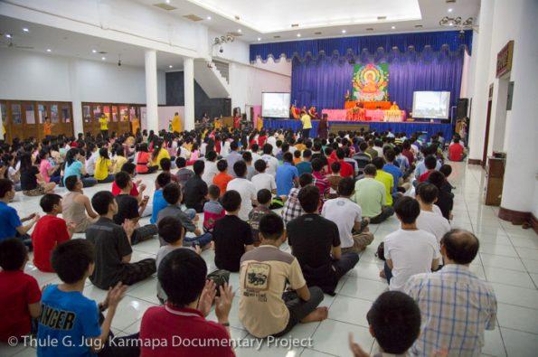 Karmapa-in-Indonesia-Visit-at-Sahassa-Buddha-Monastery-in-Medan