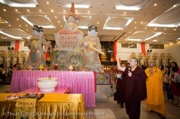 Karmapa-in-Indonesia-Visit-of-Mahakaruna-Buddhist-Center