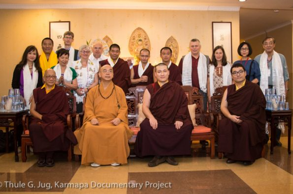 Karmapa-in-Indonesia-Visit-of-Dharma-Batama-Monastery