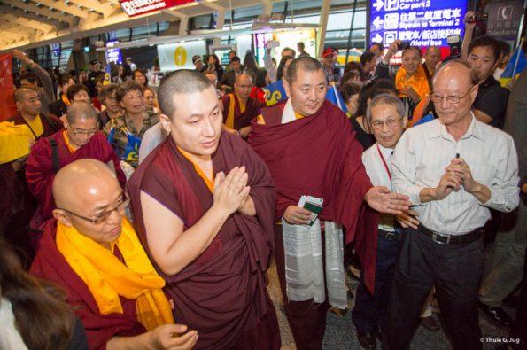 Karmapa-visits-Taiwan-Karmapa-arrives-in-Taipei