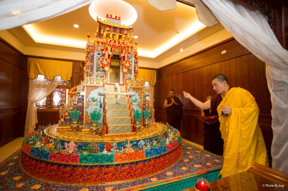 Karmapa-visits-Taiwan-Rabne-Blessing-ceremony-of-the-Monastery