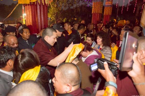 Kagyu-Monlam-2014-Arrival-of-Gyalwa-Karmapa