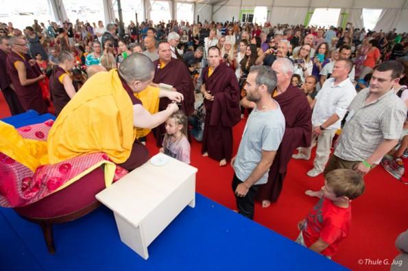 Refuge Ceremony by the 17th Karmapa