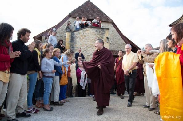 Karmapa-visits-Dhagpo-Kagyu-Ling.-July-26-to-Aug1-2015